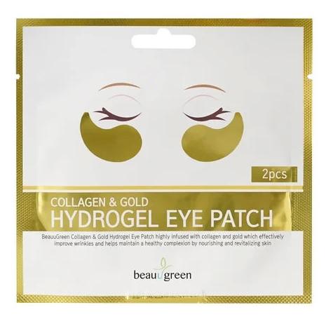 BeauuGreen Collagen & Gold Hydrogel Eye Patch (1ea / 2pcs)