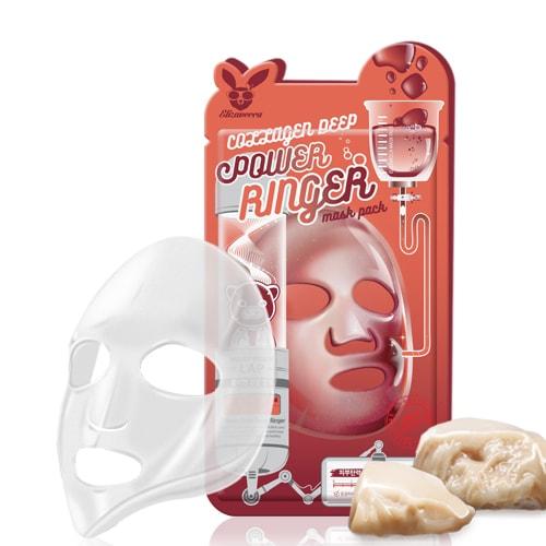 Тканевая маска для лица с коллагеном ELIZAVECCA, 1шт.