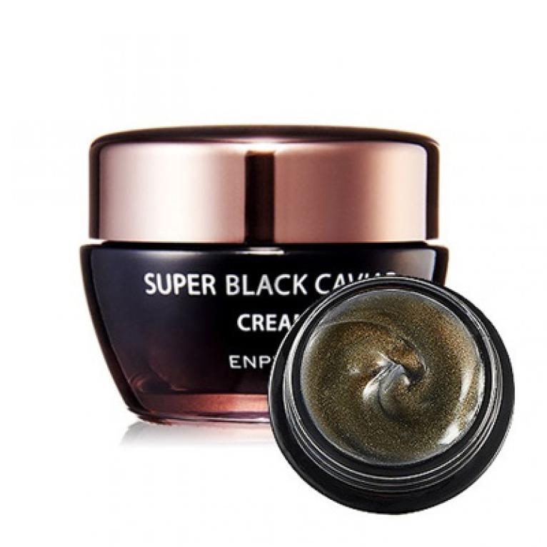 Антивозрастной крем премиум-класса с черной икрой Enprani, 50мл