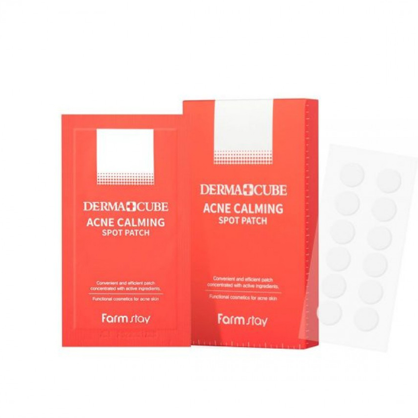 FarmStay Derma Cube Acne Calming Spot Patch
