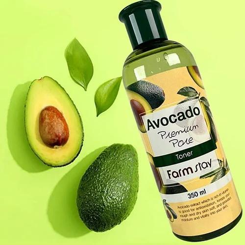 Очищающий тонер с авокадо Farm Stay, 350мл