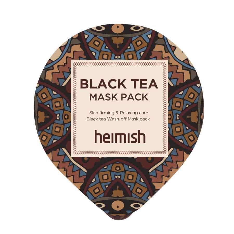 Лифтинг-маска против отеков с экстрактом черного чая Heimish (миниатюра), 5мл