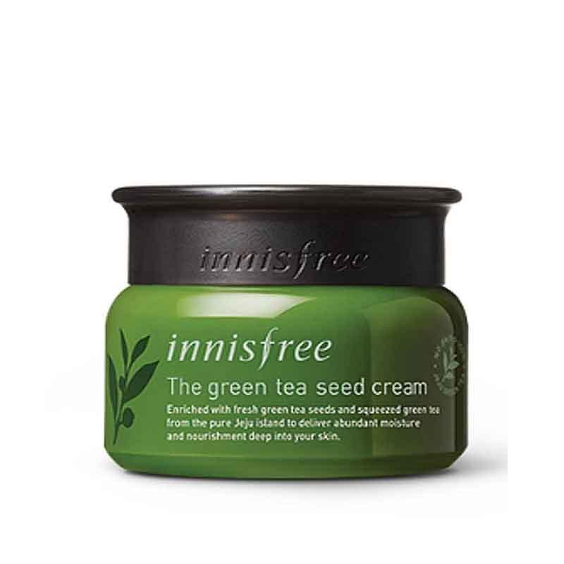 Увлажняющий крем для лица на основе семян зелёного чая