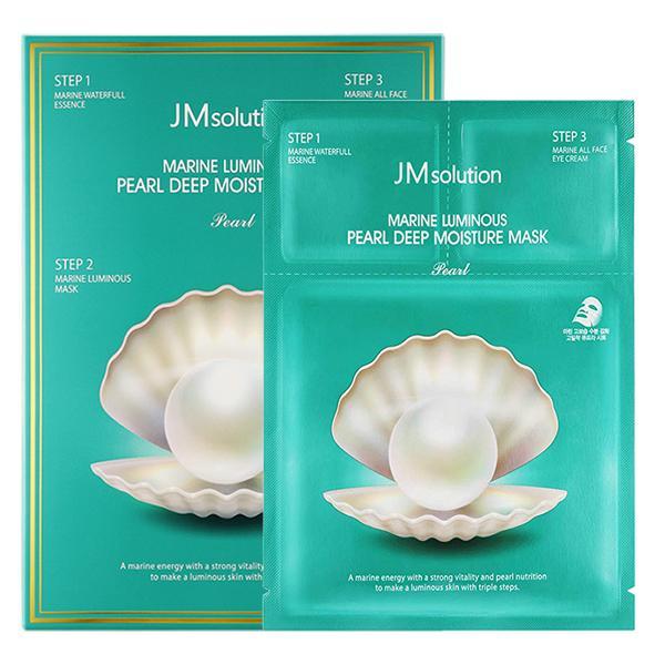 JM Solution Marine Luminous Pearl Deep Moisture Mask