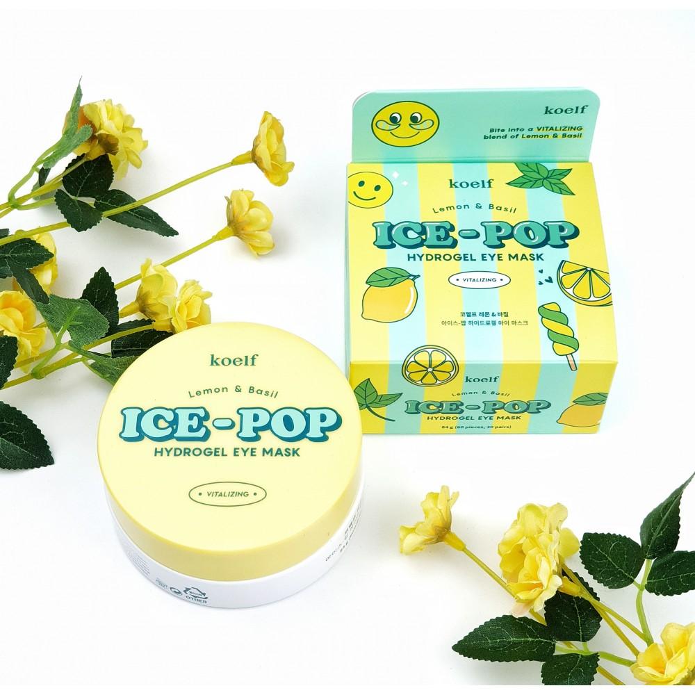 Koelf Ice-Pop Lemon & Basil Hydrogel Eye Mask