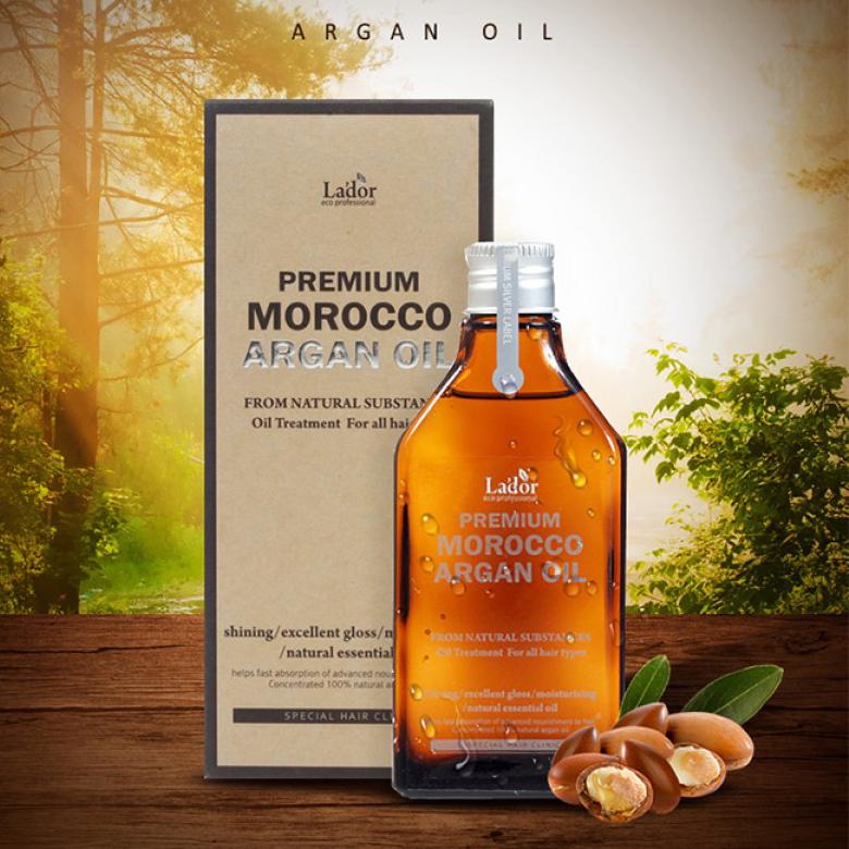 Масло для волос с марокканским аргановым маслом Lador, 100мл