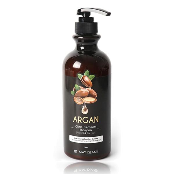 Восстанавливающий шампунь для волос с аргановым маслом May Island, 750мл
