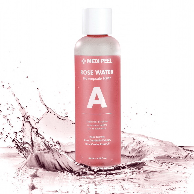 MEDI-PEEL Rose Water Bio Ampoule Toner