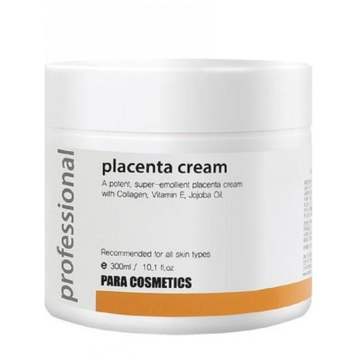 Плацентарный крем с коллагеном, витамином Е и маслом жожоба PARA COSMETICS, 300мл
