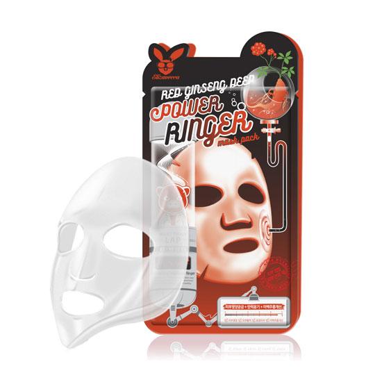 Тканевая маска с экстрактом женьшеня Elizavecca, 1шт.