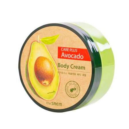 Питательный крем для тела с экстрактом авокадо The Saem, 300мл