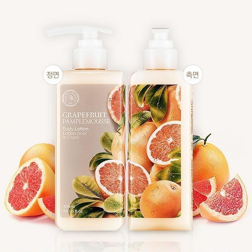 Увлажняющий лосьон для тела с грейпфрутом The Face Shop, 300мл