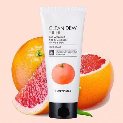 Пенка для умывания с экстрактом красного грейпфрута для жирной/  комбинированной кожи Tony Moly, 180мл
