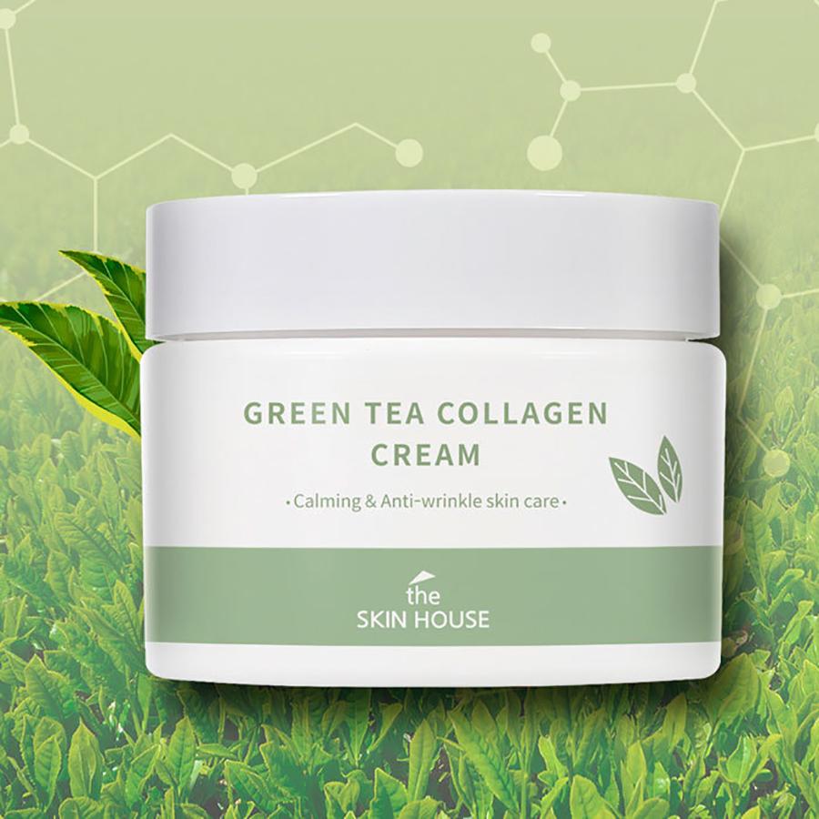 The Skin House Green Tea Collagen Cream